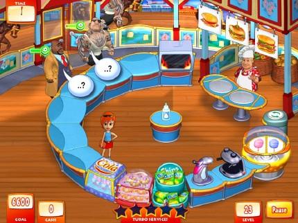 حصريا لعبة المطعم Turbo Subs