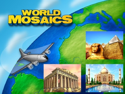 World Mosaics | Free Mac Game Download | Red Marble Games